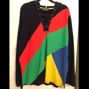 Ralph Lauren Active Thermal Colorful Hoodie sz. 3x